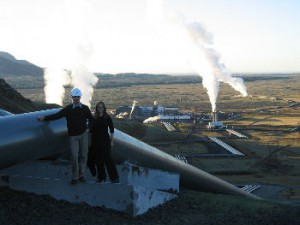 The Hellisheidi Geothermal Plant; Juerg Matter and Anna Wall